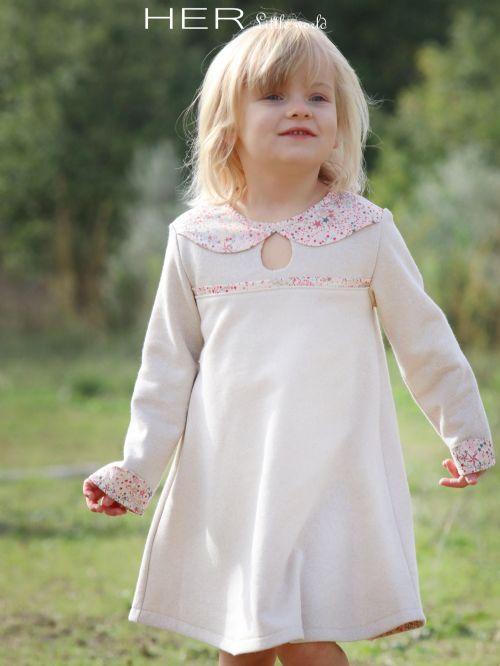 Patrons De Couture Robe Modeles Enfants Her Little World