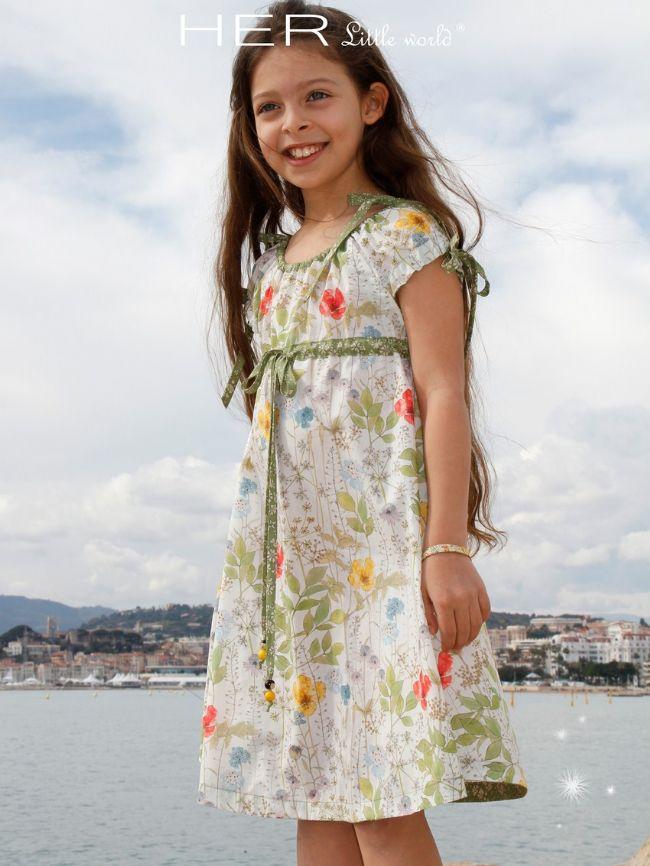 a17f067b24db2 Bucolique - Patron de couture enfant Robe Bucolique HER Little World